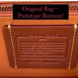 Coach Bags - Coach Kisslock 1941 Prototype Runway Original Bag